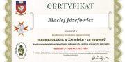 Zertifikat - Maciej Józefowicz