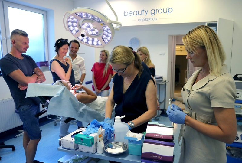 Schulung - Allergan - Beauty Group - Szczecin