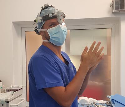 dr Grzegorz Jamro - Facharzt für Hals-Nasen-Ohrenheilkunde